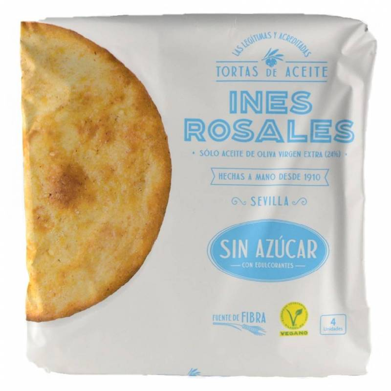 Tortas De Aceite Sin Azúcar Inés Rosales 4 Unidades