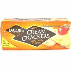 Cream Crackers Paquete 200 g